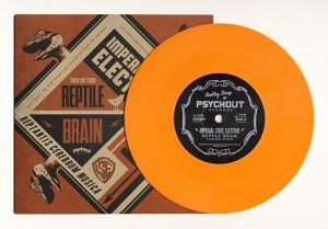 "Imperial State Electric - Reptile Brain (7"" vinyl, booze036, regular version, 875 copies)"