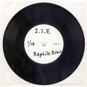 "Imperial State Electric - Reptile Brain (7"" vinyl, booze036, testpress, 10 copies)"