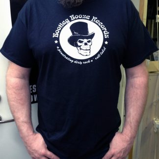Merchandise from Bootleg Booze Records