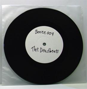 """The Deadbeats - Come Clean (7"""" black vinyl, booze009, testpress, 5 copies)"""