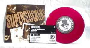 "Supersuckers / The Hangmen - Split (7"" purple transparent vinyl, booze010, first pressing, limited version, 250 copies)"