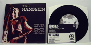 "Supersuckers / The Hangmen - Split (7"" black vinyl, booze010, first pressing, regular version, 500 copies)"