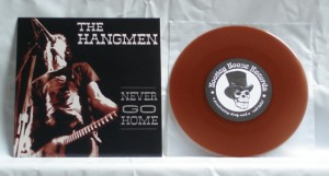 "Supersuckers / The Hangmen - Split (7"" brown transparent vinyl, booze010, second pressing, regular version, 500 copies)"