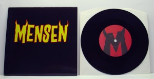 "Mensen - Ready To Go (7"" black vinyl, booze011, regular version, 300 copies)"