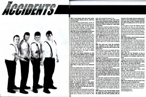 The Accidents - All Time High (LP/CD, booze012, rocka001, interview, maximum rocknroll #259, december 2004)