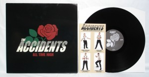 The Accidents - All Time High (LP black vinyl, booze012, regular version, comes with collectors-cards, 500 copies)