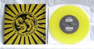 "Supersuckers / Zeke - Split (7"" split vinyl, trsp. yellow vinyl, booze017, limited version, 200 copies)"