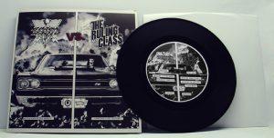 "Black Radio / The Ruling Class - Split (7"" split vinyl, booze023, regular version, black vinyl, 400 copies)"