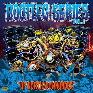 Various Artists - Bootleg Series Vol.1 - Up North/Downunder (LP vinyl, booze024, press, sleeve)