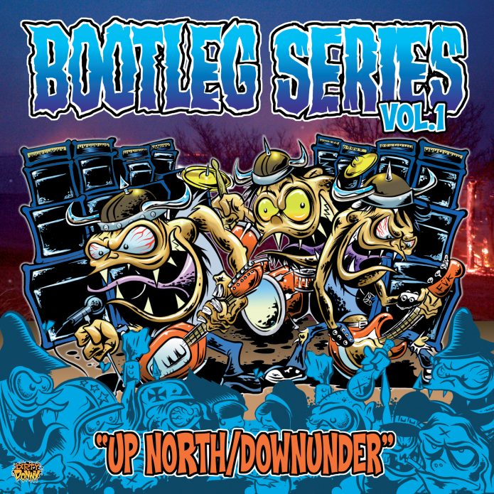 Various Artists - Bootleg Series Vol.1 - Up North/Downunder (LP vinyl, booze024, front sleeve, 500 copies)