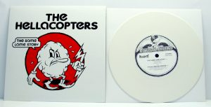"The Hellacopters - Same Lame Story (7"" vinyl, booze025, second pressing, white vinyl, 1000 copies)"