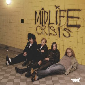 "Midlife Crisis - Cranked Up Really High (7"" vinyl, booze027, press, sleeve)"