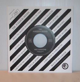 "Dee Rangers - Upside Down (7"" vinyl, booze030, jukebox series, regular version: black vinyl, 330 copies)"