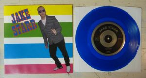 "Jake Starr - I've Got Mine (7"" vinyl, booze032, transparent blue vinyl, 100 copies)"