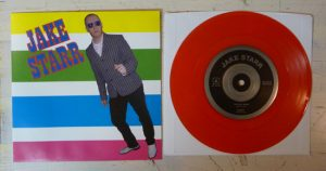 "Jake Starr - I've Got Mine (7"" vinyl, booze032, mailorder version, transparent red vinyl, 100 copies)"
