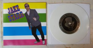 Regular version: white vinyl, 300 copies.
