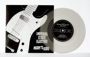 "Imperial State Electric/Mary's Kids - Split (7"" split vinyl, booze035, 1st press, boozersclub version, different sleeve, clear vinyl, 125 copies)"