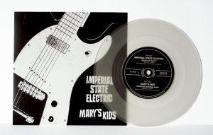 "Imperial State Electric/Mary's Kids - Split (7"" split vinyl, booze035, 1st press, boozersclub version, different sleeve, clear vinyl, 125 copies)"