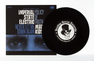 "Imperial State Electric/Mary's Kids - Split (7"" split vinyl, booze035, 1st press, regular version, black vinyl, 500 copies)"