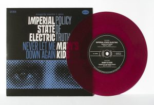 "Imperial State Electric/Mary's Kids - Split (7"" split vinyl, booze035, 2nd press, regular version, purple vinyl, 500 copies)"