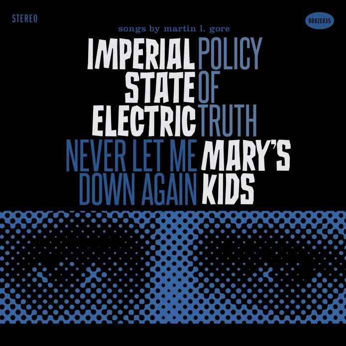 "Imperial State Electric/Mary's Kids - Split (7"" split vinyl, booze035, front sleeve, 1500 copies)"
