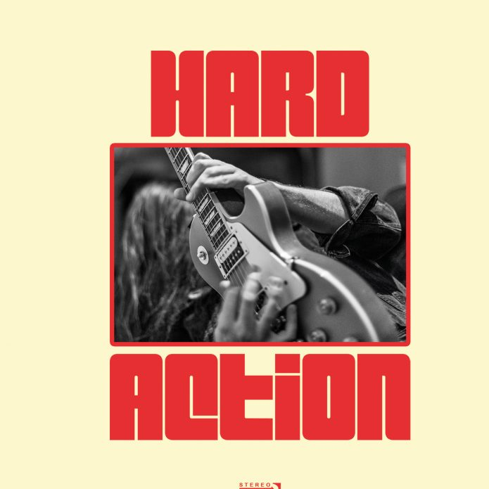 "Hard Action - Hands Dripping Red (7"" vinyl, booze037, front sleeve, 500 copies)"