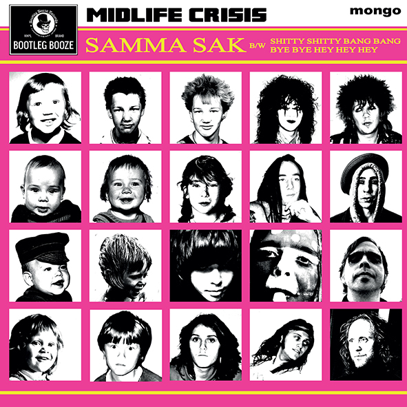 "Midlife Crisis - Samma Sak (7"" vinyl, booze040, press, sleeve)"
