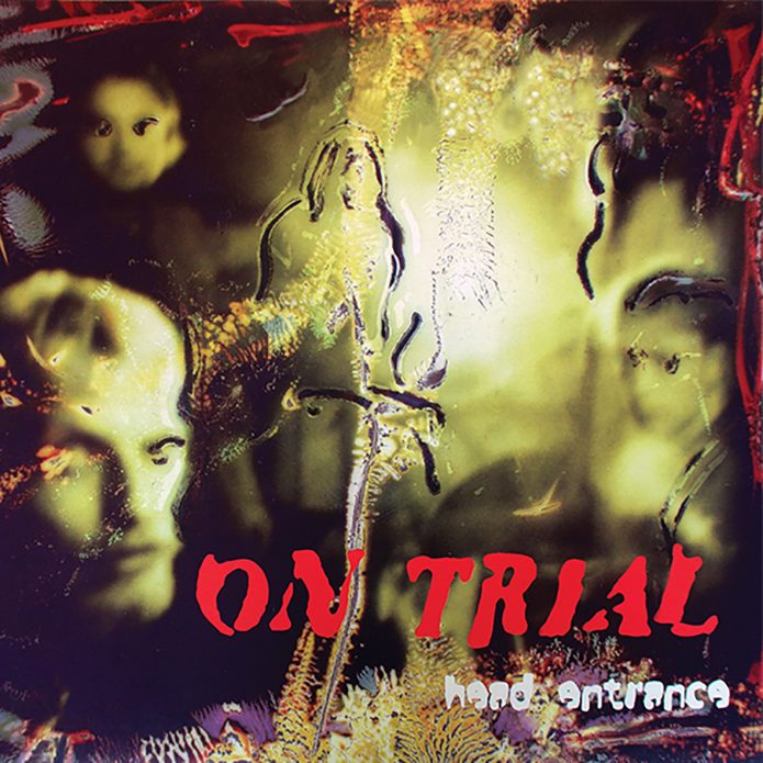 Photo of the sleeve for On Trial – Head Entrance LP