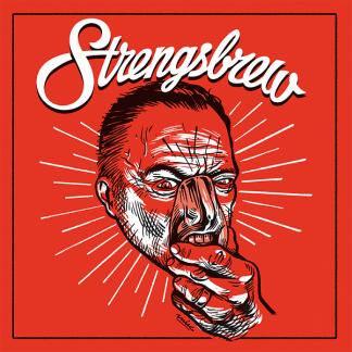 "Strengsbrew 7"" vinyl covder"