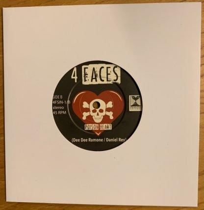 Vinyl cover 4 faces flipside