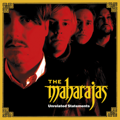 THE MAHARAJAS - Unrelated Statements LP (color vinyl + poster)