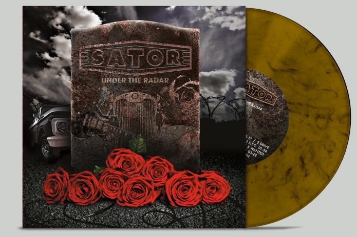 Limited version of Sator - Under the radar album
